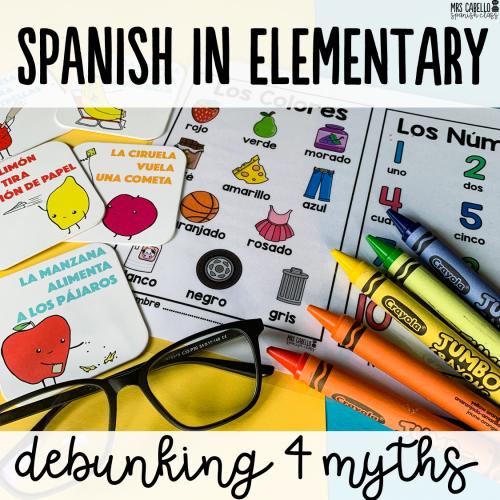Teaching Spanish in Elementary