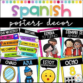 Spanish Posters Decor